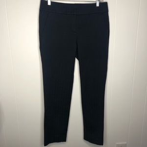 Ann Taylor Marisa Navy blue ankle pants. Size 4